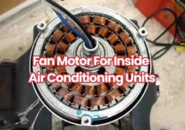 fan motor for inside air conditioning
