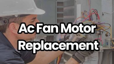 ac fan motor cost and replacement
